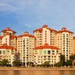 Singapore Apartments Panorama — Stock Photo