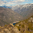 Foto de Stock  : Hetch Hetchy Valley
