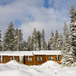 Mountain Lodge in Winter — Stock Photo