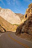 King's Canyon Road — Stock Photo