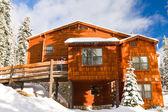 Wuksachi Lodge in Winter — Stock Photo