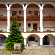 Rila Monastery Courtyard - Stock Photo