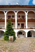 Rila Monastery Courtyard — Stock Photo