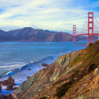 Foto Stock: Golden Gate Bridge