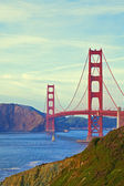 San Francisco's Golden Gate Bridge — Foto de Stock