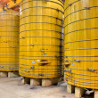 Stock Photo: Wooden Wine Barrels
