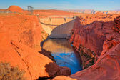 Lake Powell Dam — Stock Photo