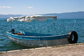 Water Taxi in Ohrid — Stock Photo