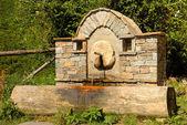 Water Fountain in Kovachevitsa — Stockfoto