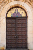 Alexander Nevsky Church Door — Stock Photo
