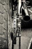 Koła motocykla — Zdjęcie stockowe