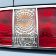 Rear tail lights — Stock Photo