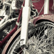 Motorcycle chrome — Stock Photo #3057134