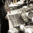 Stock Photo: Motorcycle carburetor