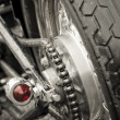 Royalty-Free Stock Photo: Motorcycle chain