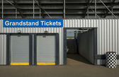 Grandstand tickets — Stock Photo