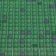 Grandstand seating — Stock Photo