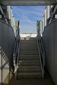 Стадион лестница — Стоковое фото