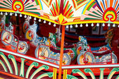 遊園地の乗車 — ストック写真