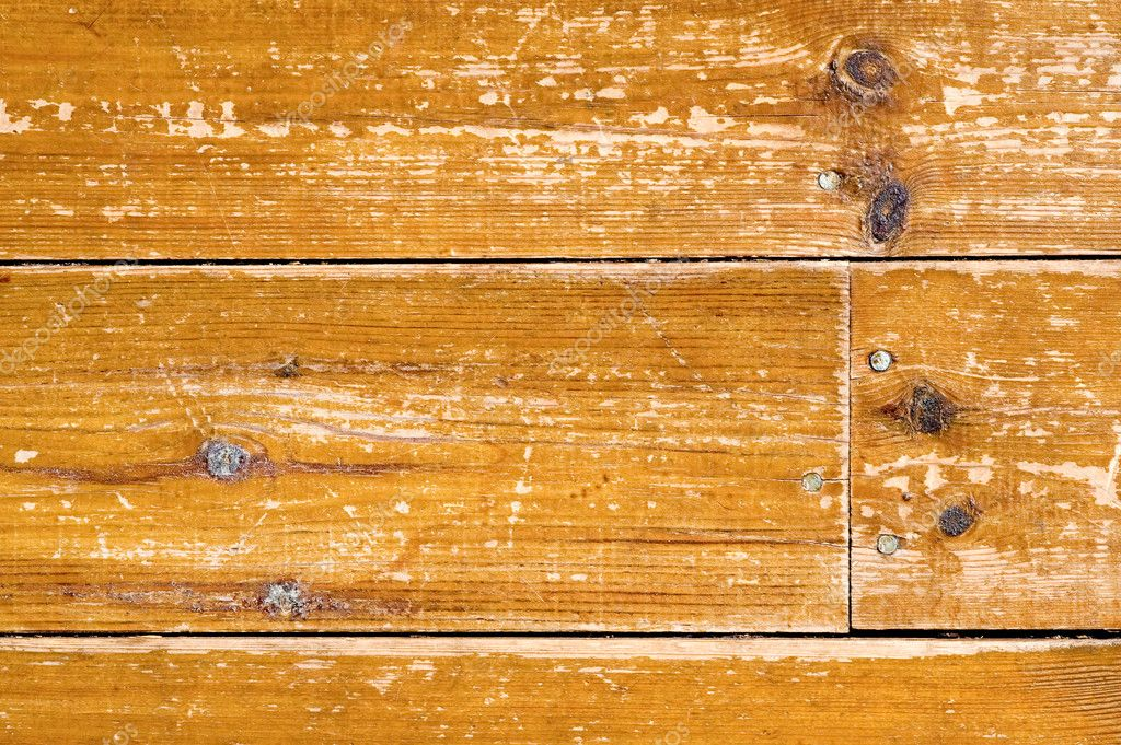 Background of distressed wood panel flooring — Stock Photo #3465522