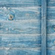 Royalty-Free Stock Photo: Blue stained wood