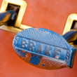 Brake pedal — Stock Photo #3613480
