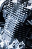 Motore motociclistico — Foto Stock