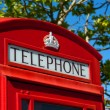 Red telephone box — Stock Photo #3631710