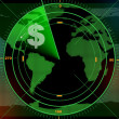 Money radar - Stock Photo