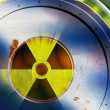Stock Photo: Radioactive danger