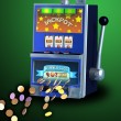 Royalty-Free Stock Photo: Slot machine