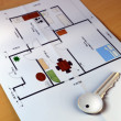 Home planning — Stock Photo