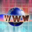 Stock Photo: Internet world