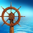 Foto Stock: Ship wheel