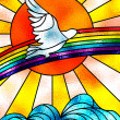 Peace dove - Stock Photo