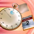 Time flying — Stock Photo