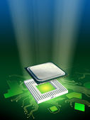 Processor power — Stockfoto