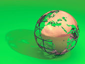 Earth model — Stock Photo