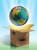 Fragile Earth — Stock Photo