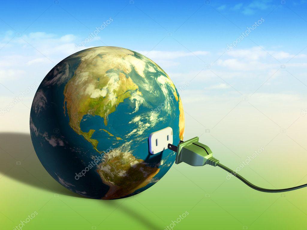 Earth energy — Stock Photo © Andreus #2724752