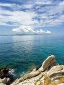 Seascape and rocks. — Stock Photo