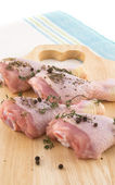 Fresh chicken meat — Stock Photo