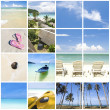 Royalty-Free Stock Photo: Collage beach photo