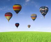 Horkovzdušný balón — Stock fotografie
