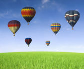 Hot air balloon — Foto Stock