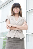 Asian business women — Stock Photo