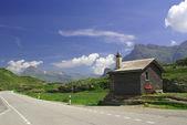 San Bernardino Pass in Swiss Alps — Stock Photo