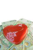 Love or money — Stock Photo