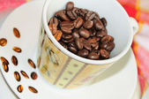 Coffee in cup — Stock Photo