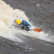 freestyle on whitewater — Stock Photo